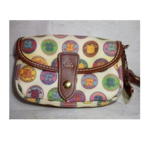Dooney & Bourke Flap Wristlet Wallet Bag Clutch